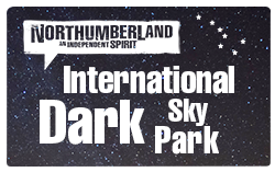 "alt=""Northumberland's International Dark Skies Park logo"""
