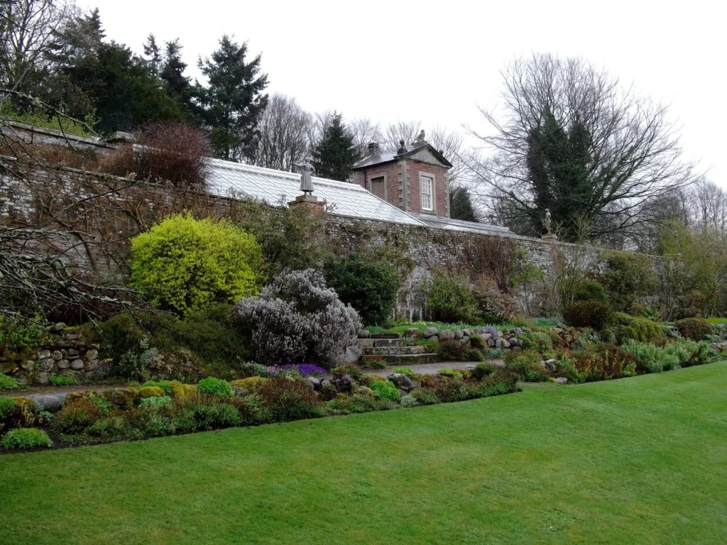 """alt=""""Hadrians Wall Area Days out in Northumberland National Trust Wallington Hall Walled Garden"""""""
