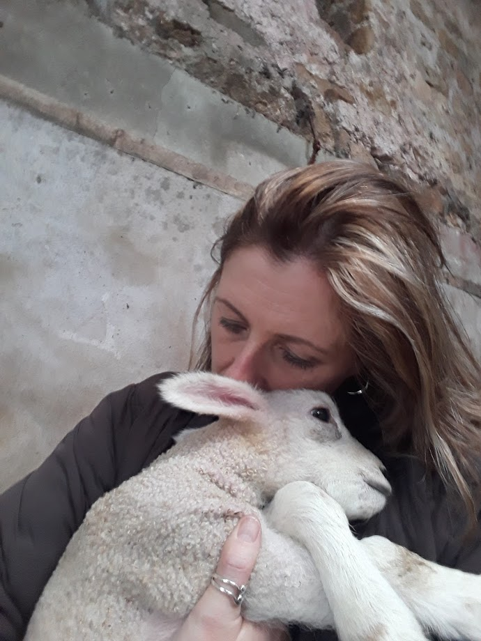 "alt+""cuddles with a lamb"""