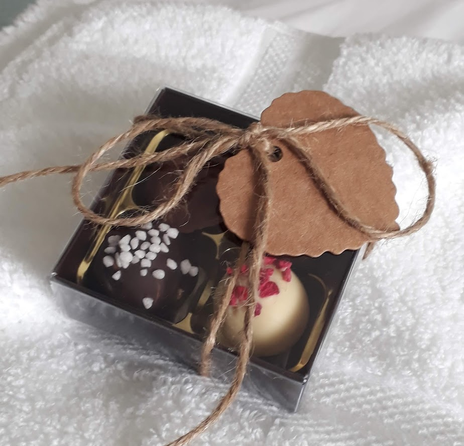 "alt=""local handmade truffles supporting sustainable rural tourism"""