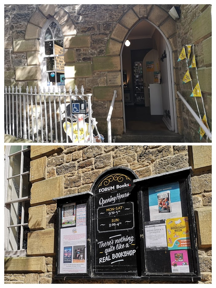 "alt=""book shop in Corbridge"""