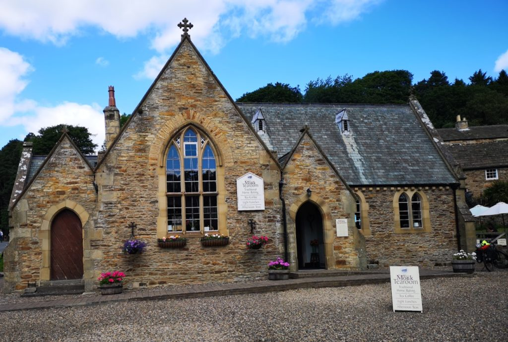 """alt=""""Rediscovering Blanchland whtie monk tearooms"""""""