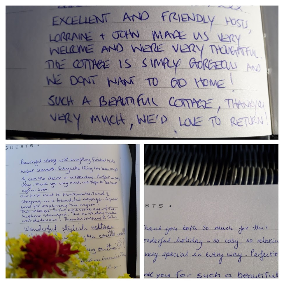"alt=""heavenfield cottage amazing comments from our guest book"""