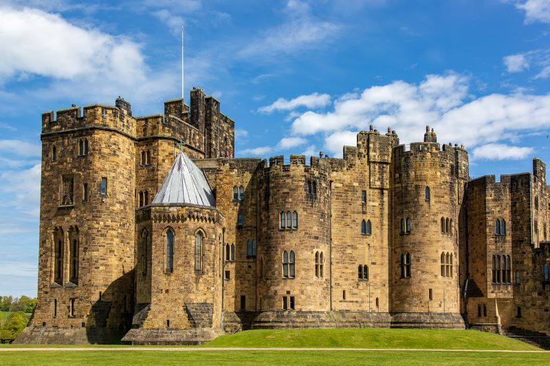 "alt=""Alnwick Castle one of Northumberland's king of castles"""