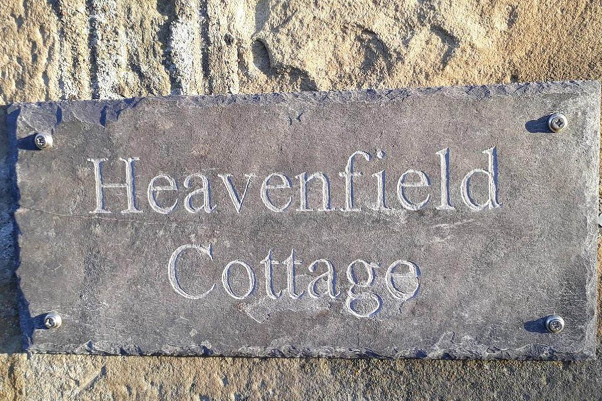 Luxury cottage near Hadrian's Wall and Hexham, Northumberland, with self catering for 2